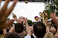 Hands in the air for Icona Pop - DC Capital Pride street festival - 2013-06-09 (9011920189).jpg