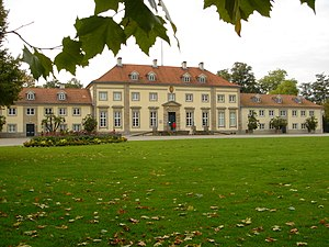 Georgengarten - The Georgenpalais in the Georgengarten, now home of the Wilhelm Busch Museum