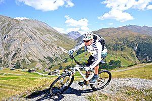 Hans Rey - Hans Rey Italian Alps, Livigno