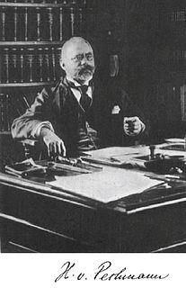 Hans von Pechmann German chemist