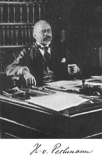 Hans von Pechmann - Image: Hans v Pechmann ca 1899