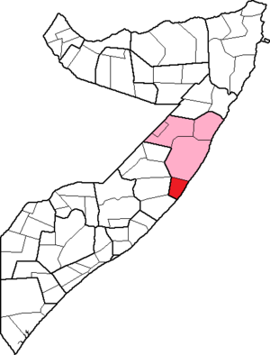 Harardhere District - Image: Harardhere District