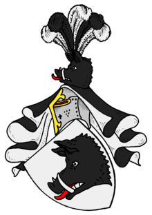 Coat-of-arms of the Hardenberg family Hardenberg-Ns-Wappen.png
