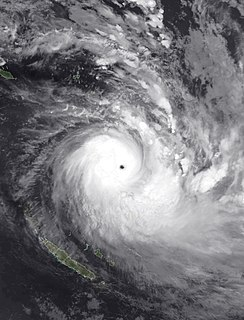 Cyclone Harold Category 5 South Pacific cyclone in 2020