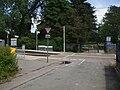 Harrington Road tramstop entrance.JPG