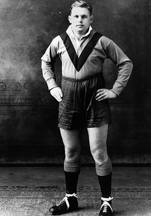 Other Nationalities rugby league team - Harry Bath, born in Brisbane, Queensland, played for the Other Nationalities team whilst playing for Warrington. He kicked 20 goals, a tally that is second only to Jim Sullivan. He also scored 1 try to score 44 points overall. On returning to Australia he played for St George Dragons and coached the Australian national team, despite never playing for them.