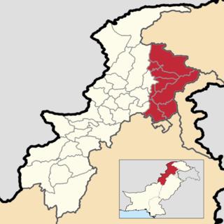 Hazara, Pakistan Region in northern Pakistan