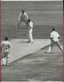 Hazare bowled Miller for 16 (2nd test, 1947, Sydney, Australia against India).tif