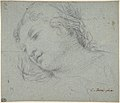 Head of a Woman (recto); Head of a Child, Study of Children's Forearms (verso) MET DP809489.jpg