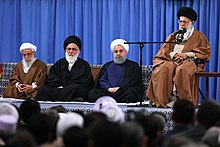 Heads of State & Participants of 31th International Islamic Unity Conference Meeting with Ayatollah Sayyed Ali Khamenei 07.jpg