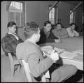 Heart Mountain Relocation Center, Heart Mountain, Wyoming. At a meeting of the Center Planning Comm . . . - NARA - 539254.tif