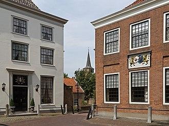 Heenvliet - Heenvliet, Markt with churchtower