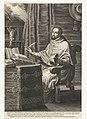 Heilige kardinaal Robertus Bellarminus Robertvs Bellarminvs Politianus atatis sua LXXIX (titel op object), RP-P-BI-2599.jpg