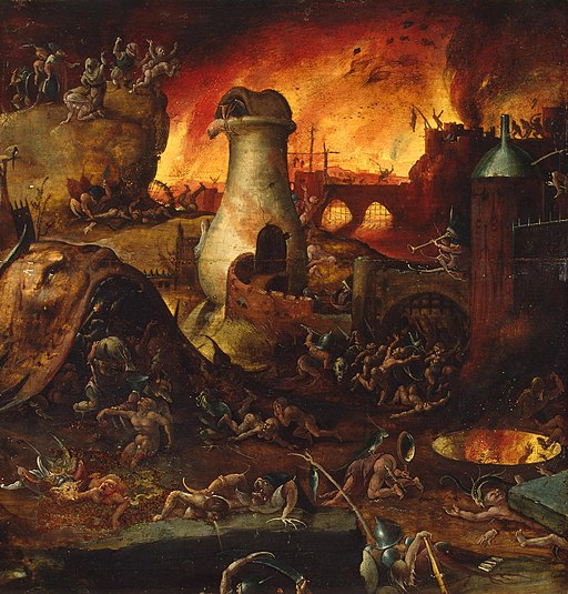 Hell (Follower of Bosch, Hermitage)