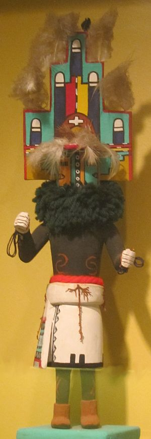Honolulu Museum of Art - Hemis (home dance) kachina doll, Arizona, Hopi people in the Honolulu Museum of Art