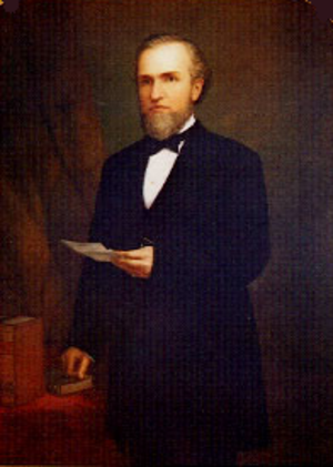 Henry Huntly Haight - Official state portrait