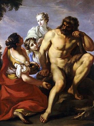 "Hesperides - ""Hercules In The Garden of The Hesperides"", Giovanni Antonio Pellegrini"