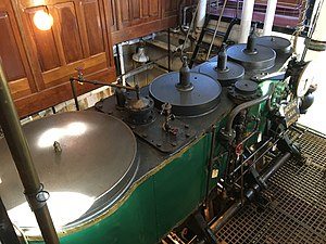 Hercules (1907) - Image: Hercules tug engine.agr
