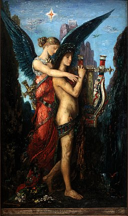 Hesiode et la Muse-Gustave Moreau-IMG 8244