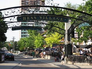 Hess Street (Hamilton, Ontario)