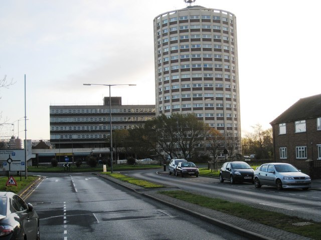 High-rise flats in Billingham - geograph.org.uk - 1591939