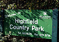 Highfield Country Park sign 2.jpg