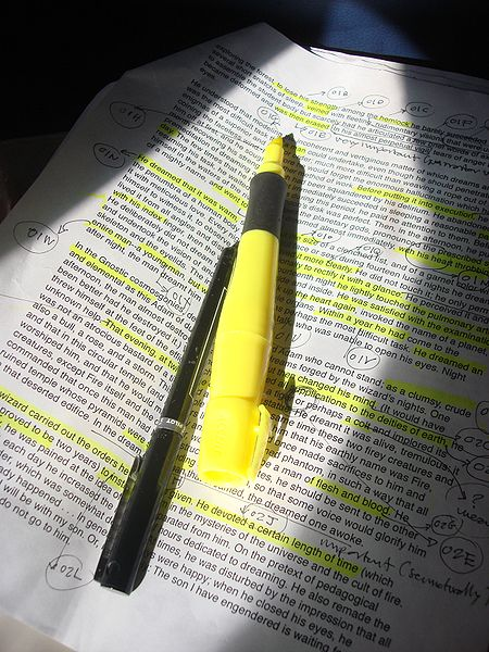 File:Highlighter pen -photocopied text-9Mar2009.jpg