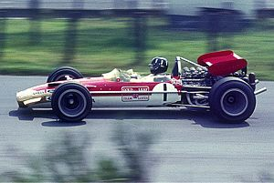 Graham Hill - Hill at the 1969 German Grand Prix