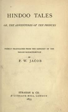 Hindoo Tales, or, The Adventures of Ten Princes.djvu