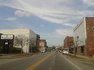Holly Hill, South Carolina - Downtown Holly Hill, April 2015