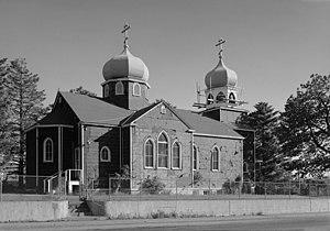 National Register of Historic Places listings in Kodiak Island Borough, Alaska - Image: Holy Resurrection Church, Kodiak