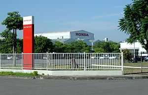 Honda Taiwan - The factory of Honda Taiwan Motor Co., Ltd. in Pingtung City