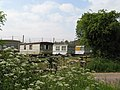 Hop pickers caravans near Suckley 2008 - geograph.org.uk - 813450.jpg