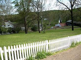 Hopewell Furnace National Historic Site - Image: Hopewell Village PA