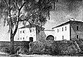 Horadnia, Stary zamak. Горадня, Стары замак (J. Bułhak, 1923).jpg