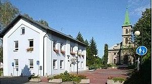 Horní Suchá - Centre of Horní Suchá