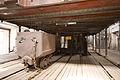 Hornický skanzen Mayrau, vozích a výtah.jpg