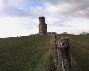 Humphrey Sturt - Horton Tower, an architectural folly designed by Sturt