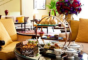 Hotel Majestic (Kuala Lumpur) - Afternoon tea is a feature of the hotel