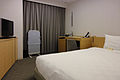Hotel Tokyu Bizfort Kobe Motomachi single bedroom 20120427-001.jpg