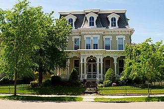 West Pittston, Pennsylvania - House on Luzerne Avenue