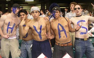"Georgetown Hoyas - The name ""Hoyas"" derives from Georgetown's college yell, Hoya Saxa."