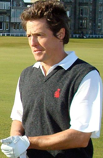 Hugh Grant - Grant during the second round of Alfred Dunhill Links Championship, October 2007