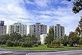 Hungary - Szolnok Imre Nagy round-road and Josika street apartement buildings.jpg