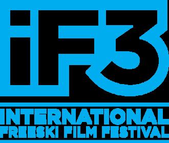 IF3 International Freeski Film Festival - Image: IF3 2014 LOGO EN OUTLINED CYAN RGB
