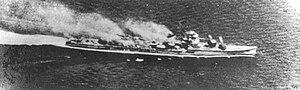 Japanese destroyer Wakatsuki - Image: IJN DD Wakatsuki 1944 at Leyte