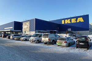The Amazing Race 6 - While in Sweden, teams visited the world's largest IKEA (at the moment) at Kungens Kurva for the Detour.