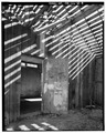 INTERIOR DOOR, Looking East - Ochoco Ranger Station, Vehicular Storage Structure, Prineville, Crook County, OR HABS ORE,7-PRINV.V,1B-8.tif