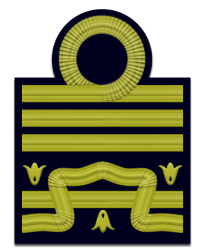 Rank insignia of the Carabinieri - Image: IT Navy OF 9