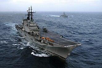 Italian aircraft carrier Giuseppe Garibaldi - Image: ITS Giuseppe Garibaldi (C 551)